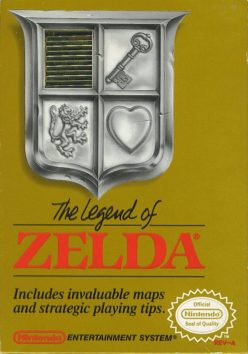 The Legend of Zelda, (USA) online in browser | NES