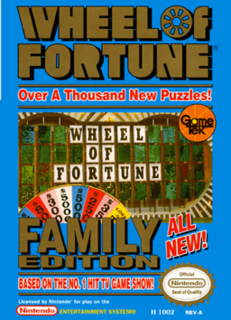 Play Wheel of Fortune game for NES online in browser