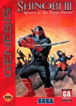 Shinobi 3 - Return Of The Ninja Master | cover