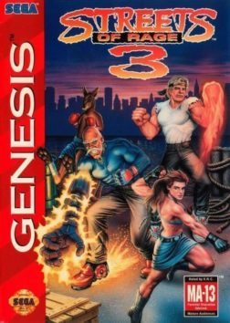 Streets of Rage 3 | Cover