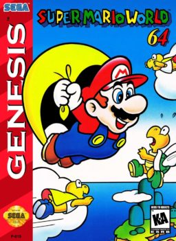 Play Super Mario World 64 for Sege Genesis / Mege Drive online in browser