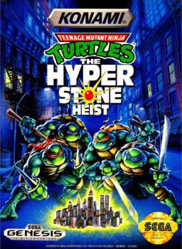Teenage Mutant Ninja Turtles - The Hyperstone Heist | Cover