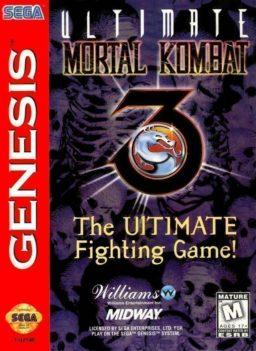 Ultimate Mortal Kombat 3 Sega Genesis | Cover