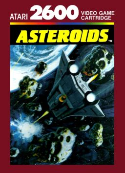 Play Asteroids game for Atari 2600 online in browser