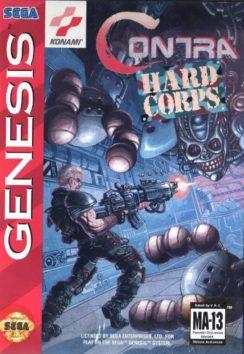 Contra Hard Corps Sega Genesis (USA) online in your browser | Sega Genesis