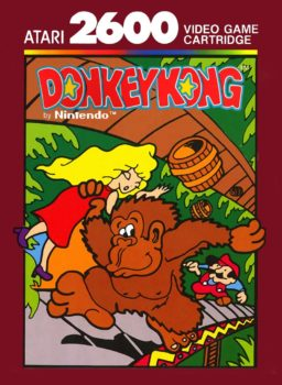 Play a classig Donkey Kong game for Atari 2600 online