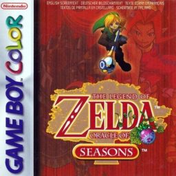 Play The Legend of Zelda: Oracle of Seasons (GBA) game online