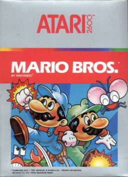Play classic Atari 2600 game Mario Bros online in browser