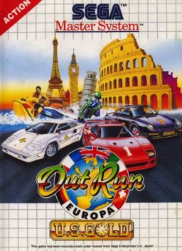 Play Out Run online (Sega Master System)
