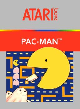 Play Pacman Game for Atari 2600 online