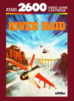River Raid (1982) (Activision, Carol Shaw) online in browser | Atari 2600