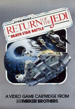 Star Wars - Return of the Jedi - Death Star Battle (Revenge of the Jedi - Game II online in browser | Atari 2600