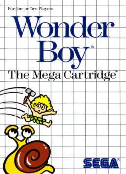 Play Wonder Boy online (Sega Master System)