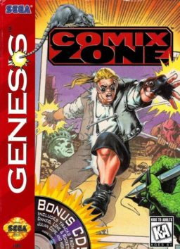 Play Comix Zone (Genesis) online in browser