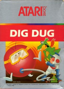 Play Dig Dug Atari 2600 game online
