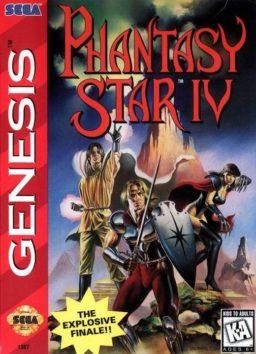 Play Phantasy Star IV Genesis game online