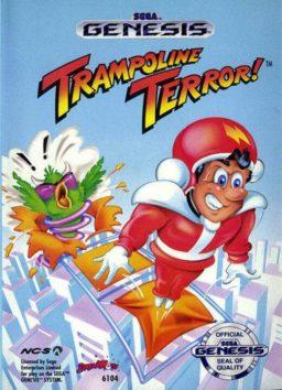 Play Trampoline Terror! game online
