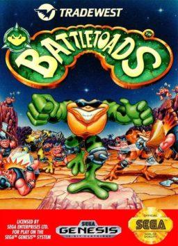Play Battletoads game online (genesis)