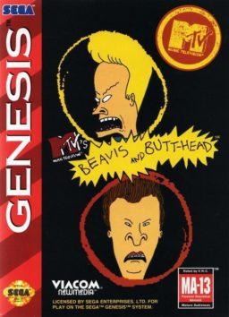 Play Beavis and Butt-Head Sega Genesis game online