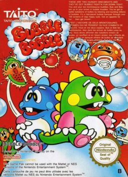 Play Bubble Bobble (NES) game online