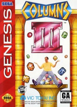 Play Columns III - Revenge of Columns (Sega Genesis) game online