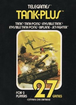 Play Combat - Tank-Plus Atari 2600 game online