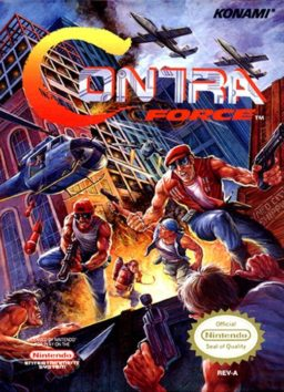 Play Contra Force online (NES)