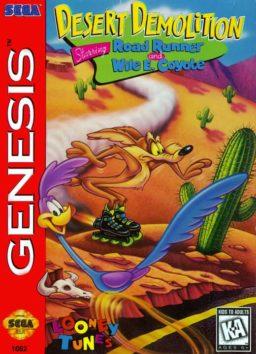 Play Desert Demolition Starring Road Runner and Wile E Coyote game (Sega Genesis) game online