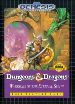 Play Dungeons & Dragons - Warriors of the Eternal Sun online (Sega Genesis)