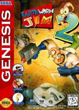 Play Earthworm Jim 2 online (Sega Genesis)