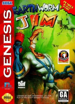 Play Earthworm Jim (Sega Genesis) game online