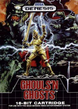 Play Ghouls 'n Ghosts online (Genesis)