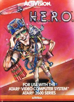 Play HERO online (Atari 2600)