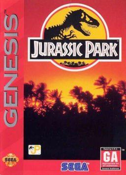 Play Jurassic Park game online (Genesis)