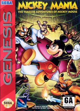 Play Mickey Mania - The Timeless Adventures of Mickey Mouse online (Sega Genesis)