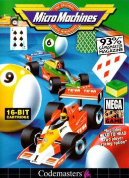 Play Micro Machines online (Sega Genesis)