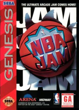 PLay NBA Jam Tournament Edition onlne (Sega Genesis)