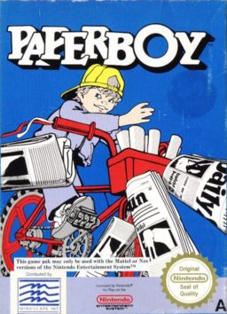 Play Paperboy online (NES)