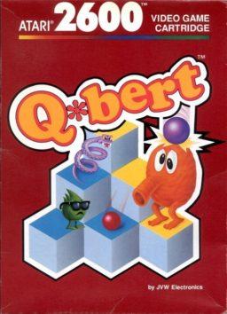 Play Q*bert online (Atari 2600)