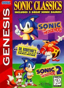Play Sonic Classics online (Sega Genesis)