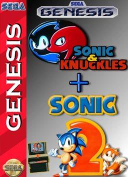 Play Sonic & Knuckles + Sonic the Hedgehog 2 online (Genesis)