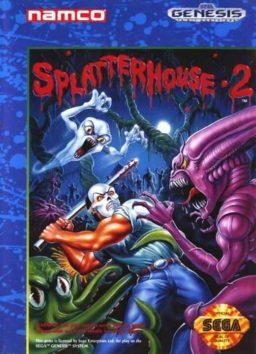 Play Splatterhouse 2 game online