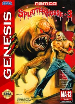 Play Splatterhouse 3 online (Genesis)
