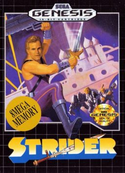 Play Strider online (Genesis)