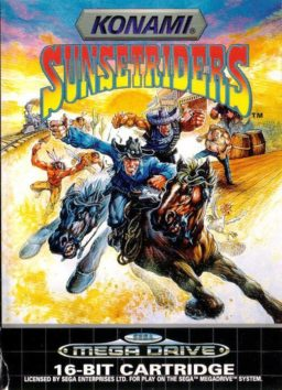 Play Sunset Riders online (Genesis)