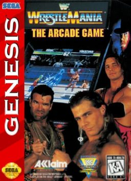 Play WWF WrestleMania - The Arcade Game online (Genesis)