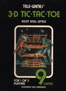 Play 3-D Tic-Tac-Toe online (Atari 2600)