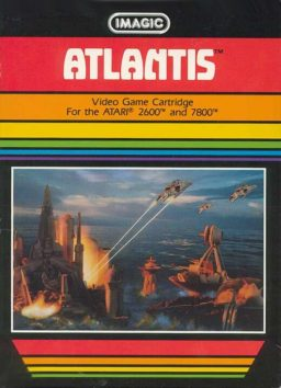Play Atlantis game online (Atari 2600)