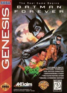 Play Batman Forever online (Sega Genesis)