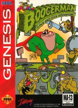 Play Boogerman - A Pick and Flick Adventure online (Sega Genesis)